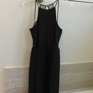 BCBGeneration Black & Lace Dress